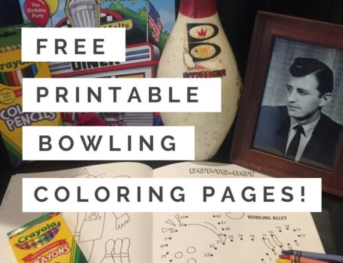 National Bowling Day + Free Coloring Pages!