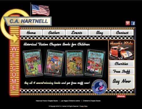 Las Vegas Children's Book Author Wins Award for Best Website