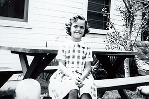Booklet of Pictures Carol Ann in the 1950's.