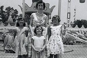 Granny Cathy Biehl and Kathy, Gail, Carol (sisters)